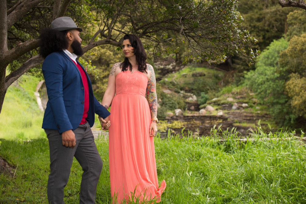 Engagement Session at Joaquin Miller Park